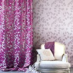 9-asortare draperii cu tapet decorativ perete