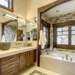 9-baie amenajata in stil clasic decorata cu piatra naturala