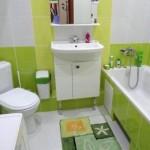 9-baie moderna vesela in alb si vernil