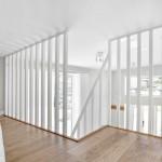 9-balustrada garda de corp alba din lemn loft casuta 19 mp
