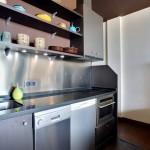 9-bucatarie moderna minimalista apartament cu 2 camere