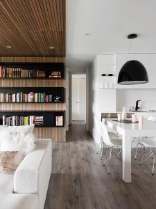 9-bucatarie si living cu design modern amenajate in plac deschis