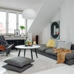 9-canapea gri living mic decor rustic scandinav
