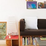 9-canapea moderna cu biblioteca sub sezut