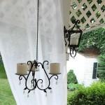 9-candelabru suport de lumanari din fier forjat pentru exterior
