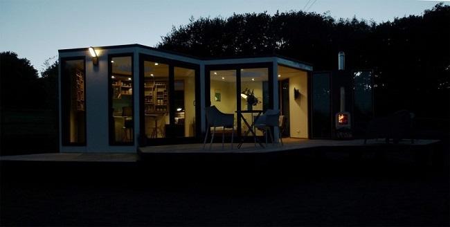 9-casa din module hexagonale tip fagure Hivehaus Marea Britanie