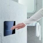 9-caseta control rezervor wc cu senzori tehnologie contactless