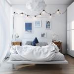 9-combinatii surse de iluminat moderne amenajare dormitor scandinav minimalist