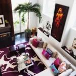 9-covor imprimeu floral supradimensioat decor living modern elegant