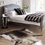 9-covor pretios din blana naturala decor dormitor amenajat in stil clasic