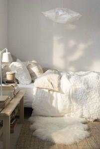 9-covoras moale si pufos decor dormitor