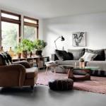 9-decor luminos si putina mobila living amenajat in stil scandinav