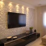 9-decor perete cu televizor living cu panouri decorative 3D