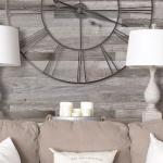 9-decor vintage obtinut cu ajutorul peretelui finisat cu bucati de lemn reciclat Artis Wall