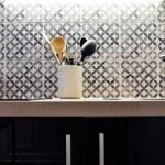 9-detaliu decor bucatarie moderna alb negru duplex 19 mp paris