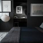 9-dormitor masculin zugravit in gri antracit cu covor alb