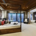 9-dormitor matrimonial cu baie proprie amenajate in stil modern japonez