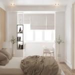 9-dormitor matrimonial cu balcon deschis proiect amenajare D3 Design