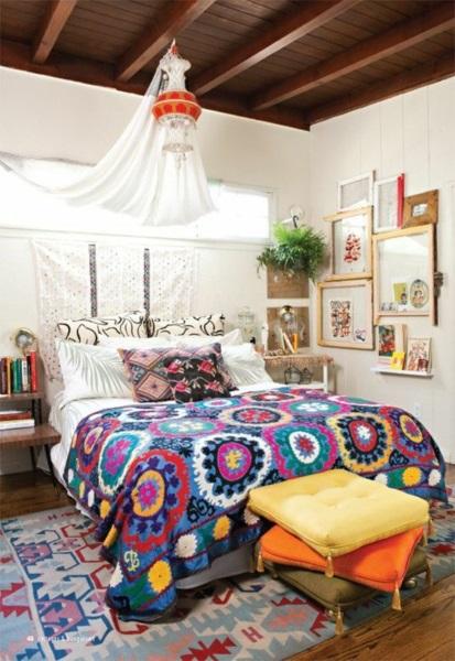 9-dormitor mic amenajat in stil boho chic