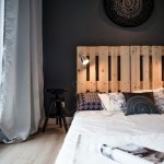 9-dormitor modern minimalist cu pat confectionat din paleti de lemn reciclati