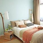 9-dormitor rustic in culori pastelate apartament50 mp Barcelona