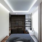 9-dormitor separat de living printr-o usa glisanta apartament semidecomandat