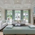 9-draperii bleu pastel decor living modern decorat in alb si bleu