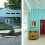 9-exterior si interior casa moderna ecologica construita din 5 containere maritime imbinate si suprapuse