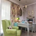 9-fotoliu vernil in zona de relaxare a unei camere din Villa Antjelion cazare Thassos Limenaria