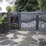 9-gabion si plasa sudata si pietre gard decorativ curte si gradina
