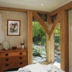 9-grinzi si stalpi din lemn structura casa rustica anglia