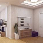 9-hol intrare apartament modern cu 3 camere