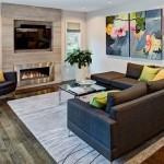 9-idei decorare perete living cu tablouri mari
