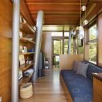 9-interior placat cu lemn natural birou casuta copac 16 mp