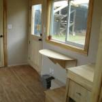 9-intrare casa ecologica lemn construita fara substante chimice