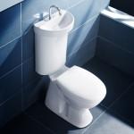 9-lavoar baie cu scurgere in rezervor wv design caroma
