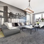 9-living modern apartament decorat in alb negru si gri