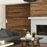 9-living modern cu semineu perete placat cu parchet