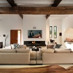 9-living modern minimalist casa veche din piatra renovata