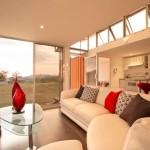 9-living si bucatarie open space casa moderna din doua containere