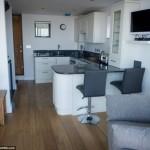 9-living si bucatarie open space casa vacanta sheringham marea britanie