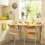 9-loc de luat masa ingust bucatarie mica moderna