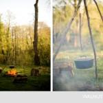 9-mancare gatita in tuci la foc de tabara curte ferma walnuts farm