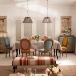 9-masa-dining-inconjurata-de-scaune-cu-tapiterie-diferit-colorata