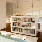 9-mica etajera in decorul dormitorului apartamentului