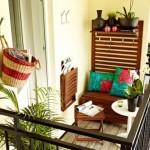 9-mobilier compact multifonctional pentru balcon mic