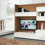 9-model biblioteca moderna living de dimensiuni medii