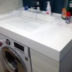 9-model chiuveta baie cu masina de spalat dedesubt