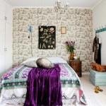 9-model de dormitor amenajat in stil Boho Chic