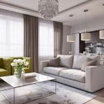 9-model living apartament cu bucatarie open space
